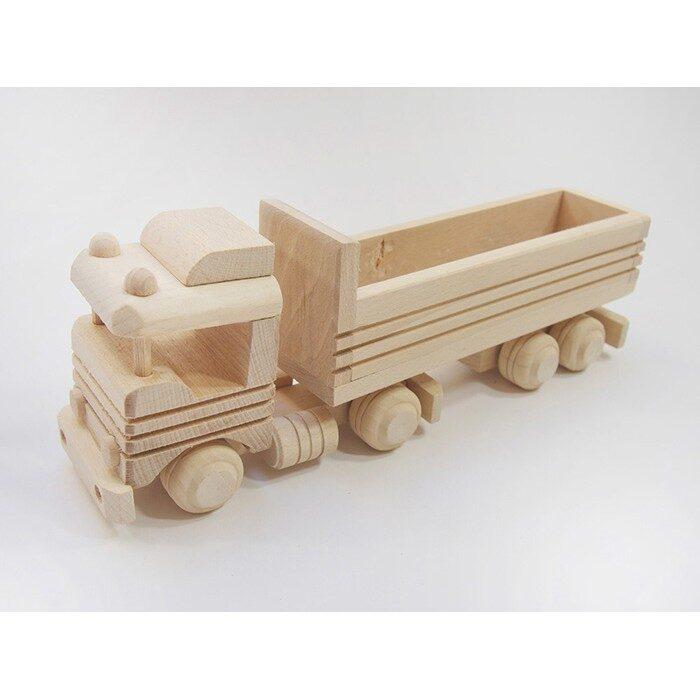 Koka rotaļļieta - kravas auto 295x70x110 mm. /ZSKK202/