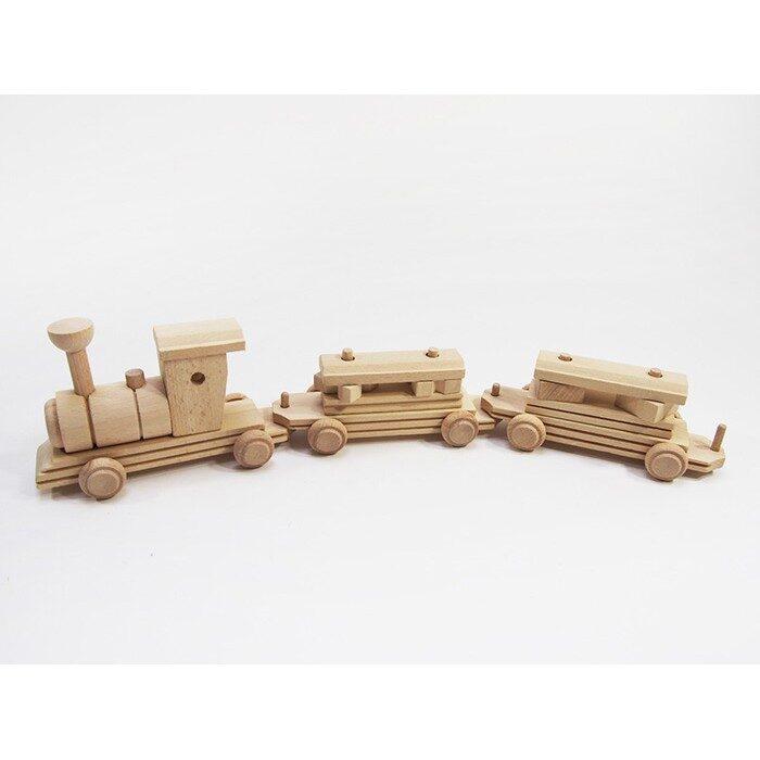 Koka rotaļlieta - vilciens 490x95 mm /ZSKK206/