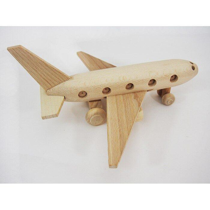 Koka rotaļlieta - lidmašīna II Izmērs: 230x270x115 mm. /ZSKK220/