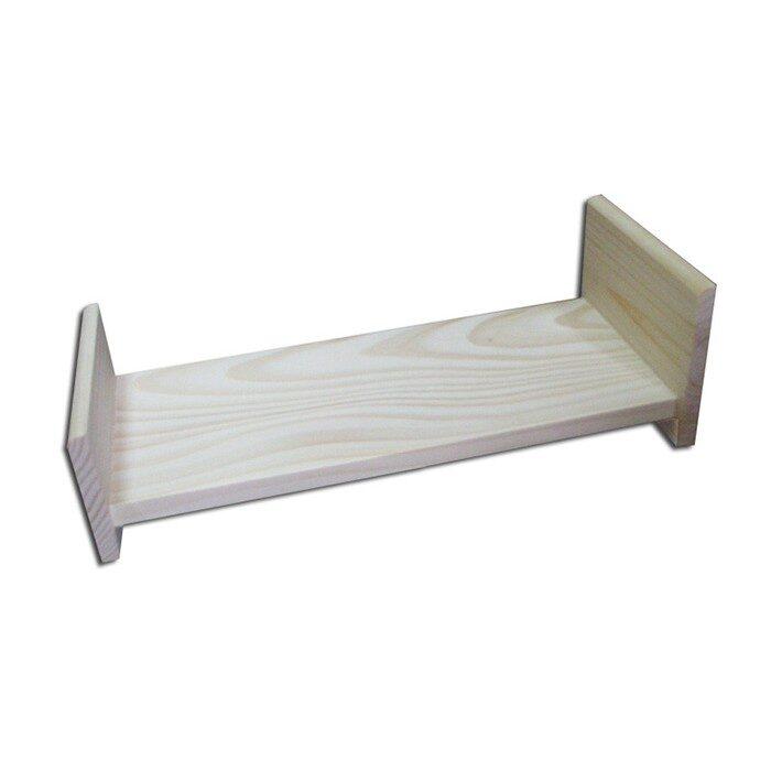 Koka rotaļlieta - leļļu gulta. 300x120x100 mm /ZSKK212/