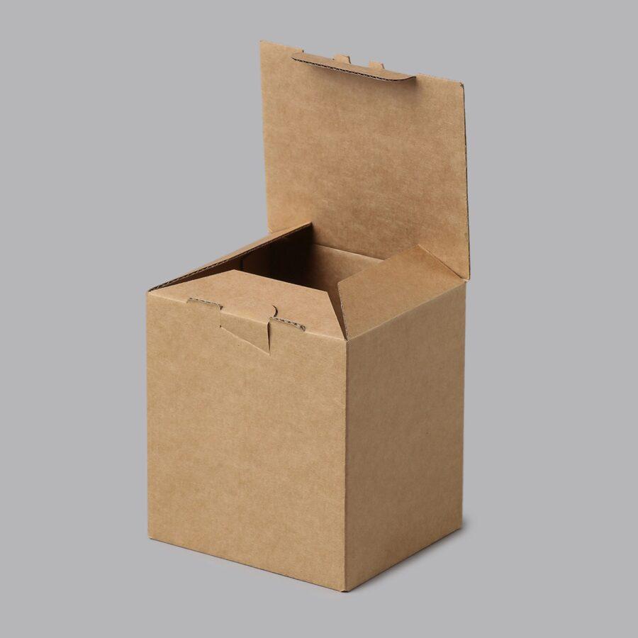 Gofrētā kartona kastes 115x100x120mm /ZSK27/