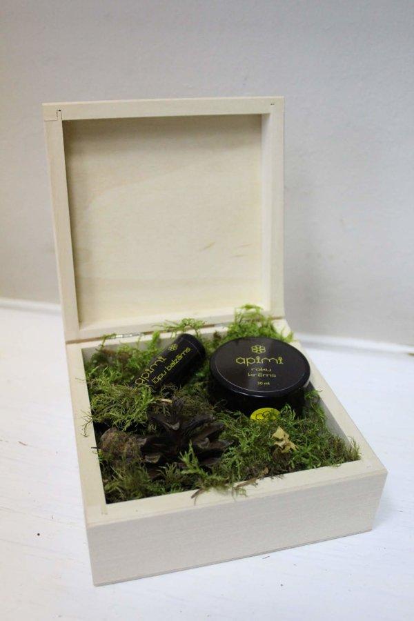 Koka kastīte bez aizdares 160x160x60 mm /ZKK123/