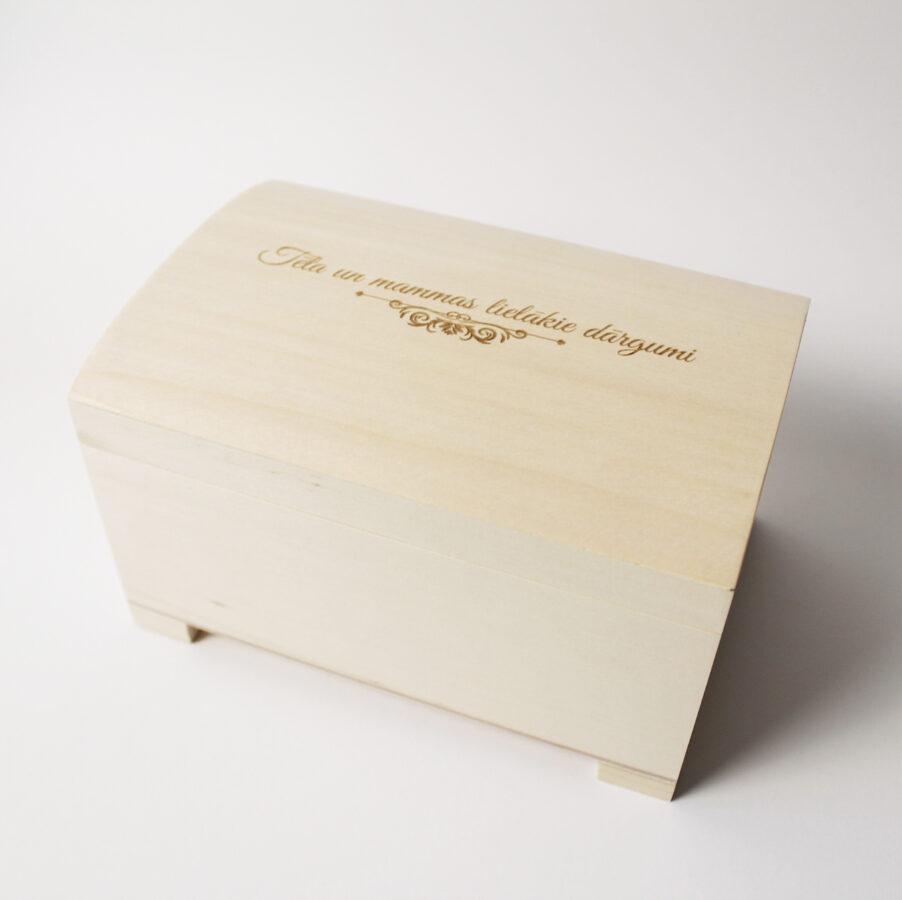 Maza koka lādīte  120x80x70 mm /ZSKK106/