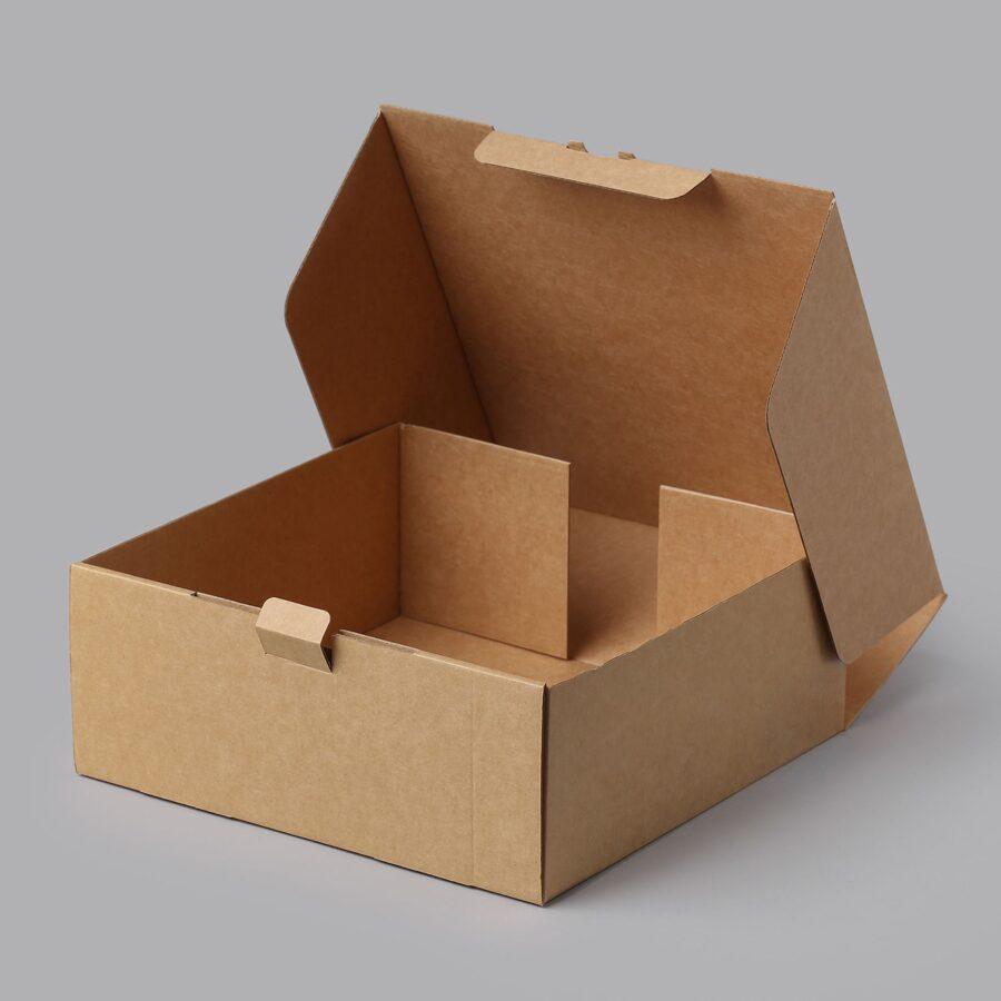 Gofrētā kartona kastes 250x250x100mm /ZSK25/