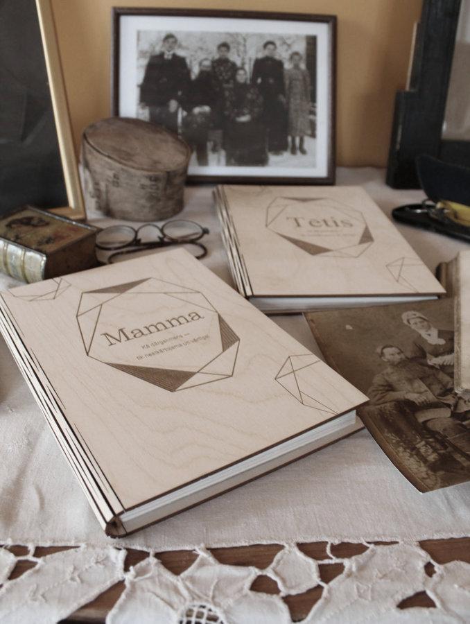 Atmiņu grāmatu komplekts MAMMA + TĒTIS