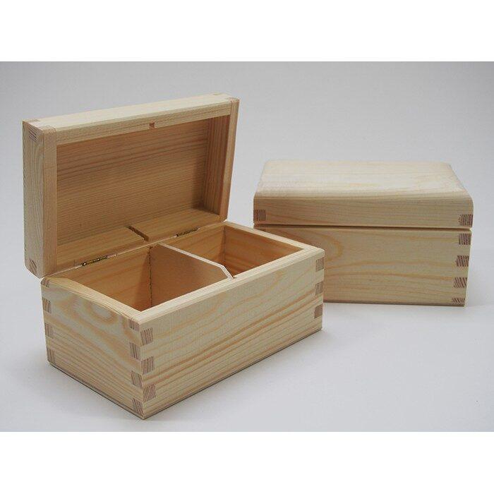 Koka kaste ar 2 nodalījumiem 150x95x80mm /ZSKK27/