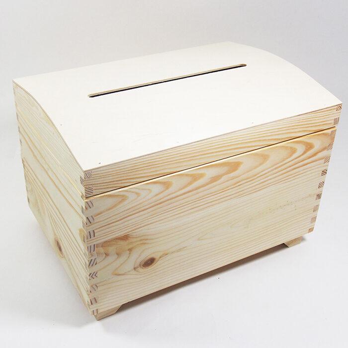 Koka lāde aploksnēm, dāvanu kartēm 350x250x250 mm /ZSKK2/