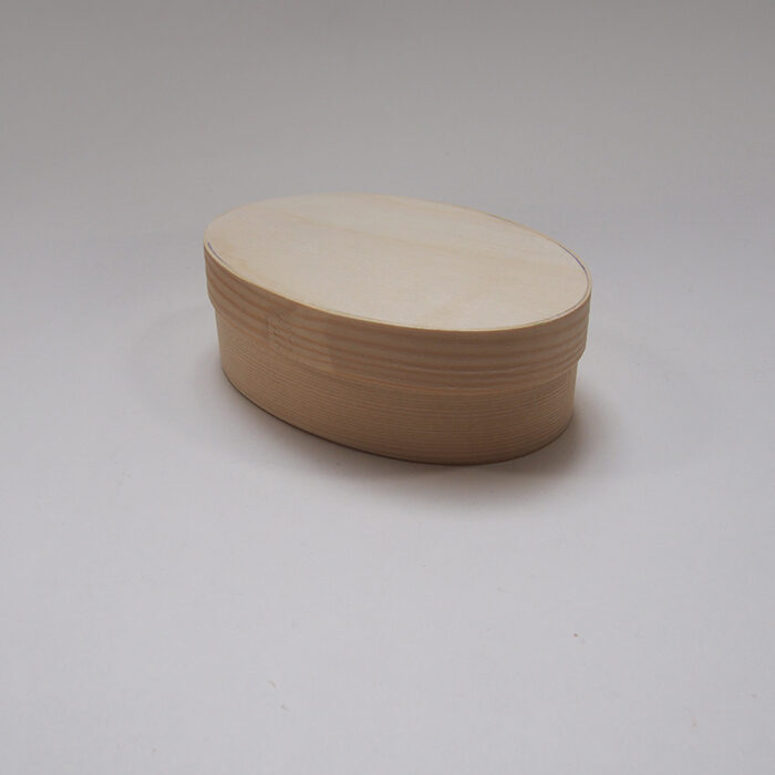 Liela izmēra, ovāla koka kaste 180x130x63 mm /ZSKK6/