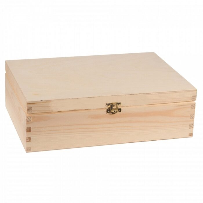 Koka kaste ar aizdari 34x25x10,6 cm /ZSKK24/