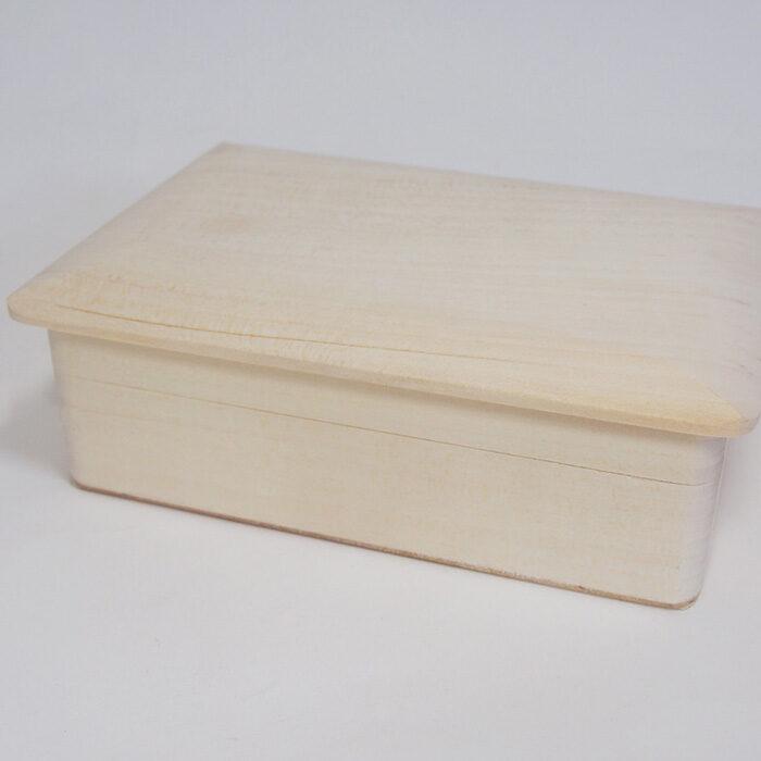 Koka kaste ar koka vāku 160x112x53 mm /ZSKK158/