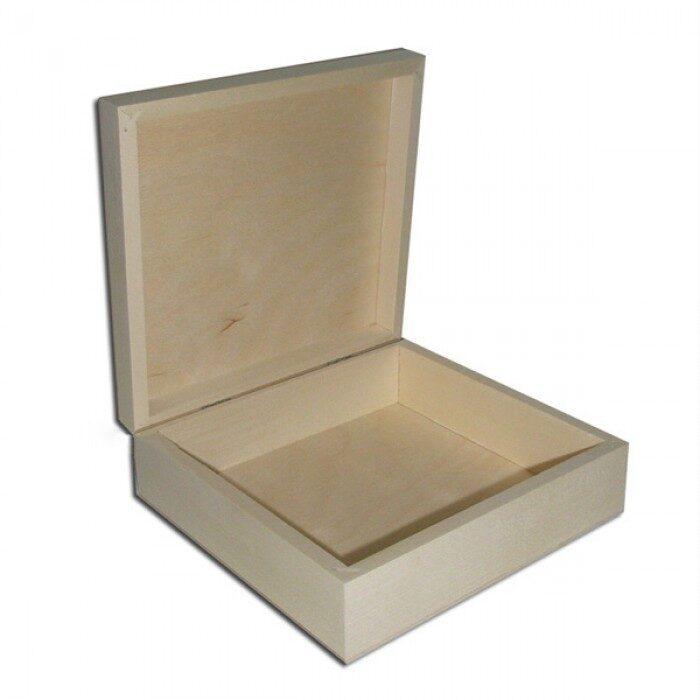 Plakana koka kaste 190x165x61 mm /ZSKK149/
