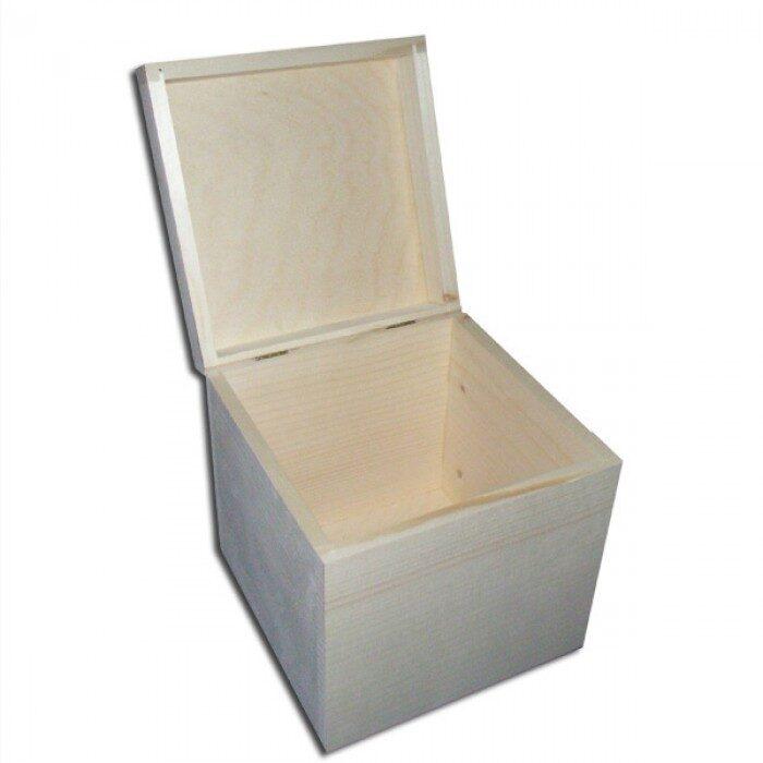 Koka kaste - kvadrāts 160x160x160 mm /ZSKK157/