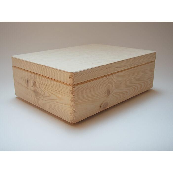 Koka kaste ar vāku (vidēja)  400x300x140mm /ZSKK92/