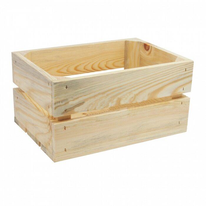 Koka kaste augļiem, plauktiņiem 46x32x23 cm. /ZSKK101/