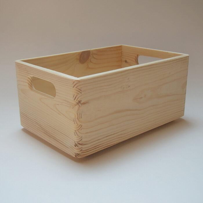 Koka mantu kaste ar rokturiem (maza) 300x200x140mm /ZSKK96/
