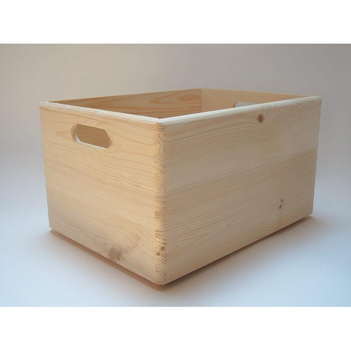 Koka mantu kaste ar rokturiem (liela) 400x300x240mm /ZSKK98/