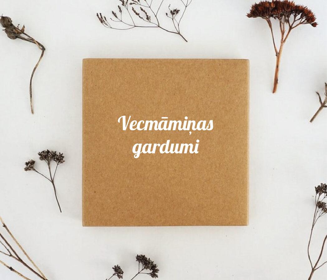 Uzlīme burciņām un kastītēm - Vecmāmiņas gardumi