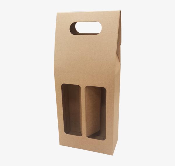 Mikrogofras kastīte ar logu 165 x 85 x 330 mm /ZSK17/