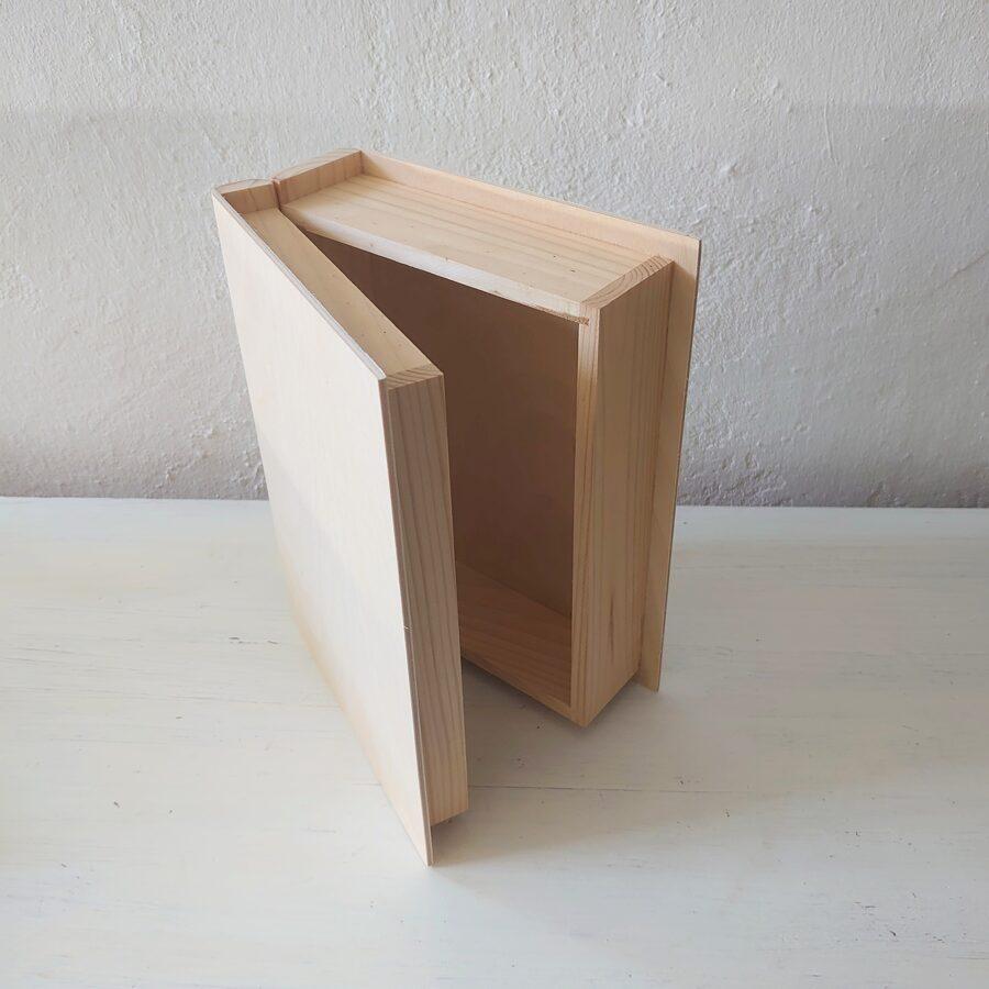 Koka kaste - grāmata 240x190x75 mm /ZSKK145/