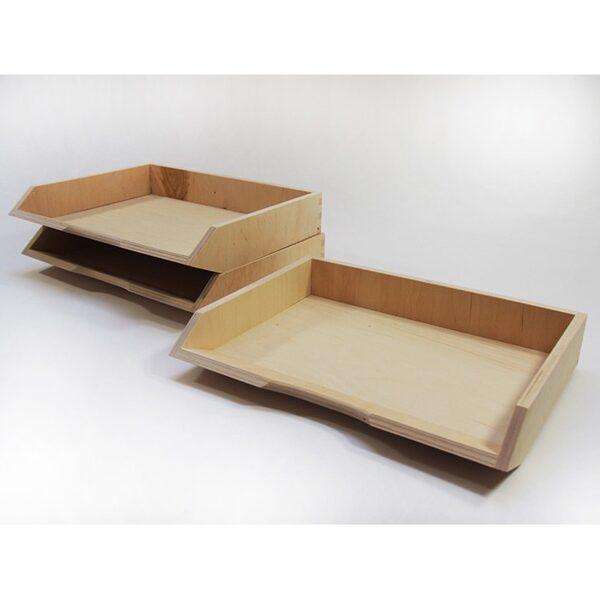 Dokumentu koka plaukts A4 formāts 340x270x60 mm /ZSKK190/
