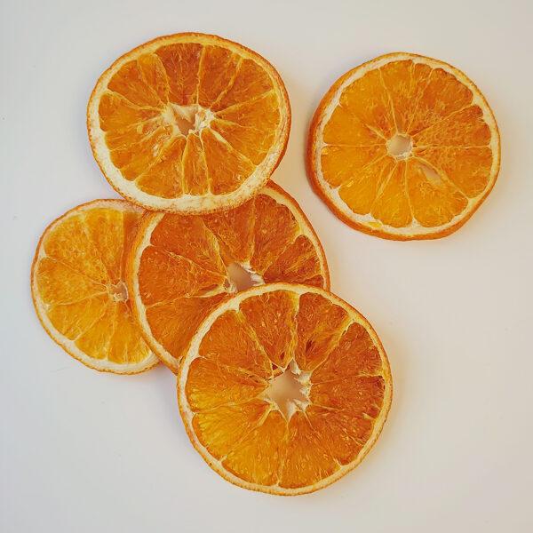 Kaltētas apelsīnu šķēlītes /20 gab./