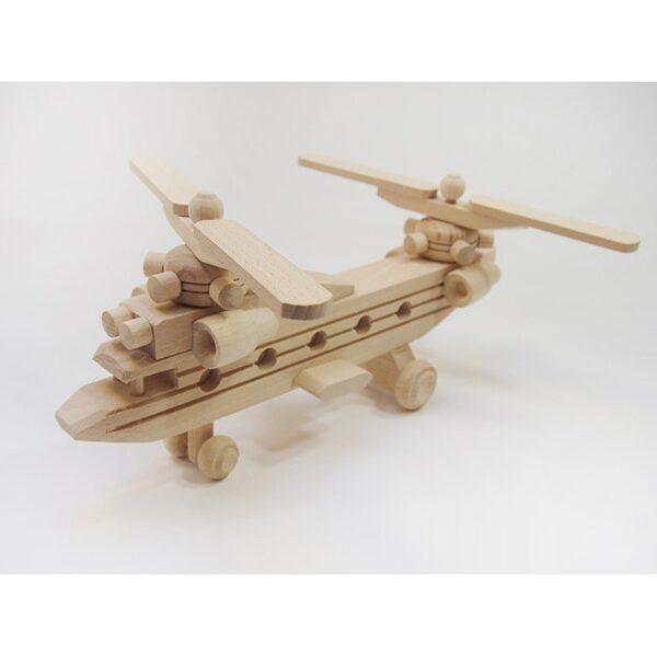 Koka rotaļlieta - helikopters 280x70x130 mm. /ZSKK218/