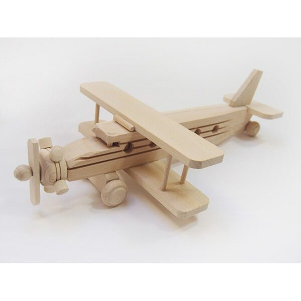 Koka rotaļlieta - lidmašīna 330x200x82 mm /ZSKK207/