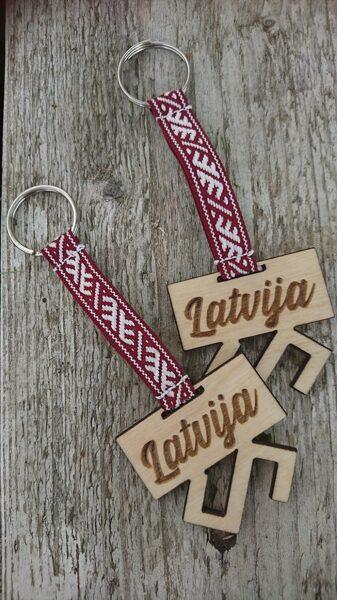 Koka atslēgu piekariņš - Zalktis /ZSAT/
