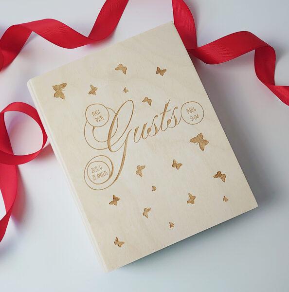 Koka kaste - grāmata 210x170x45 mm /ZSKK144/
