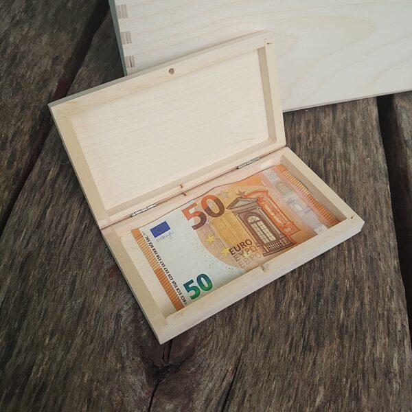Koka kaste naudas banknotēm vai dāvanu kartēm/ZSKK171/