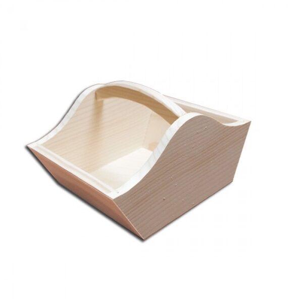 Koka kaste - groziņš (vidējs) 175x140x105 mm /ZSKK79/