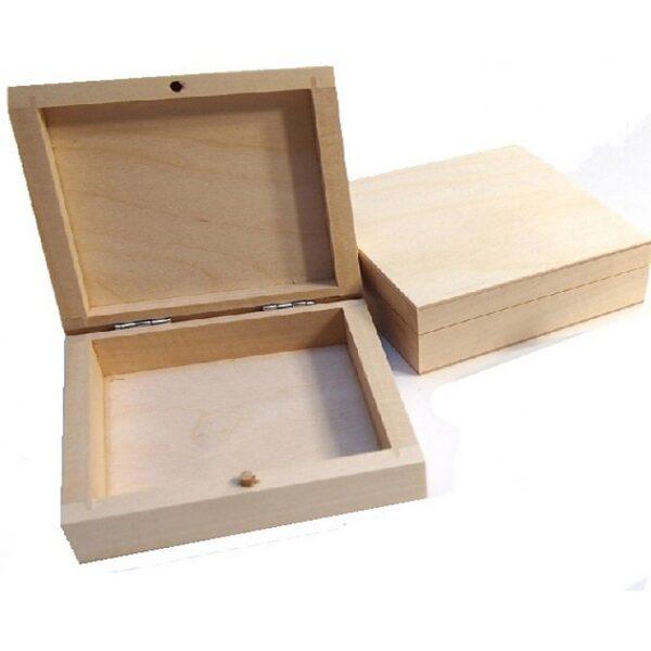 Koka kaste kārtīm bez aizdarītes 120x95x40 mm /ZSKK16/