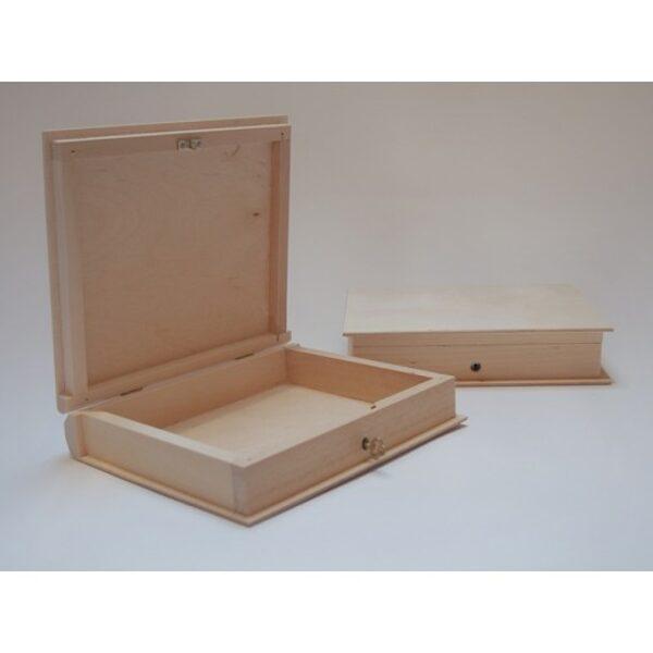 Koka kaste - grāmata ar atslēdizņu 210x170x45 mm /ZSKK243/